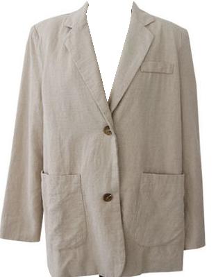 Blog-linen cotton jacket
