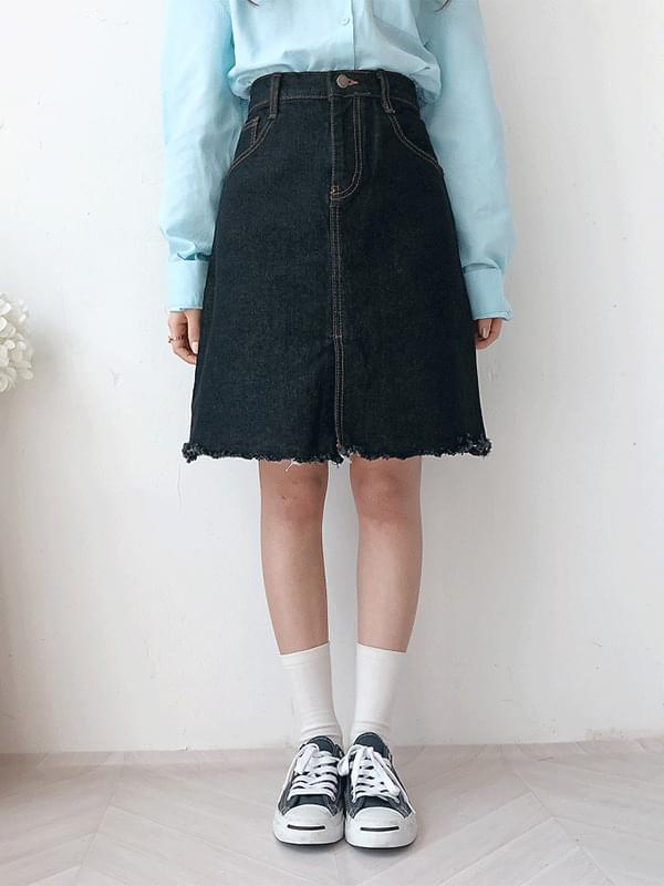 Alice 5 piece denim skirt