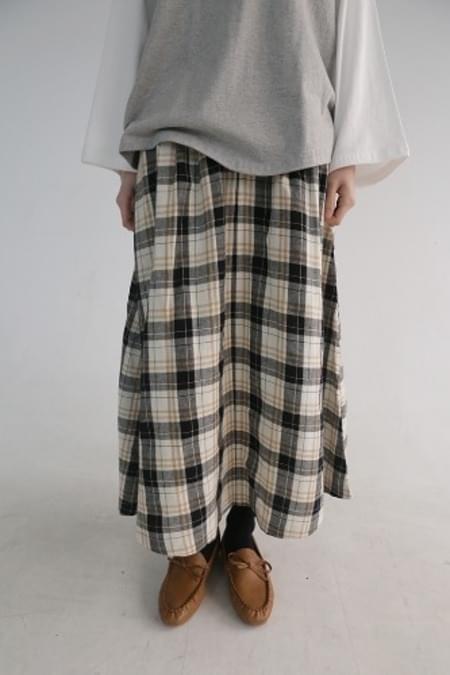 check banding skirt