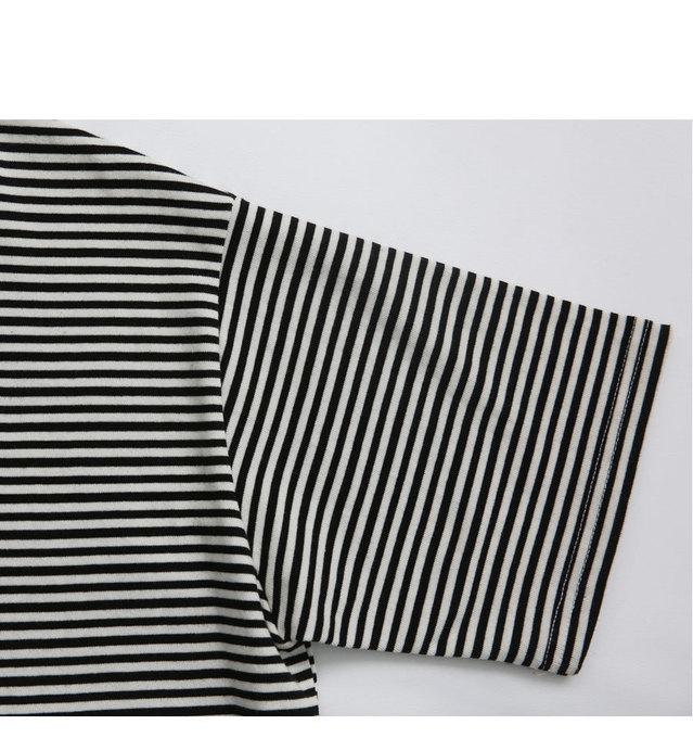Piko- striped t-shirt