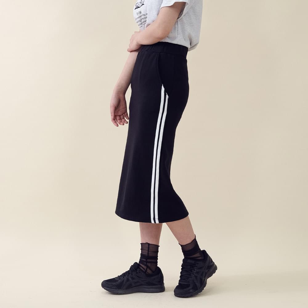 Long Sheer Skirt