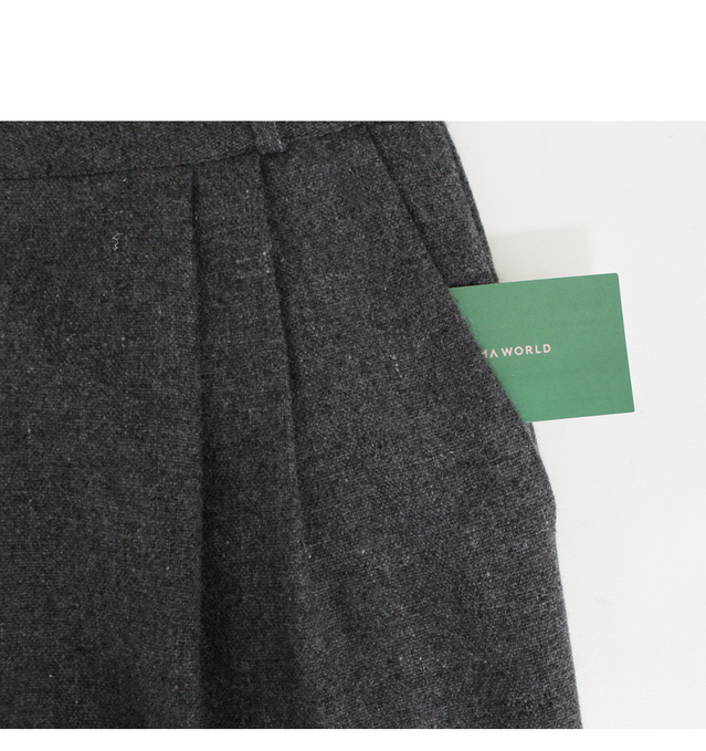 Bakery-wool slacks