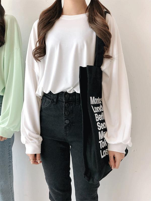 韓國空運 - Shining Balloon Long Sleeve Polo Shirt 長袖上衣