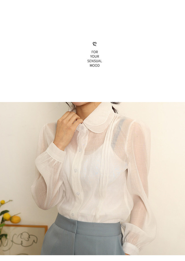 Shatin Romantic Shawl Blouse
