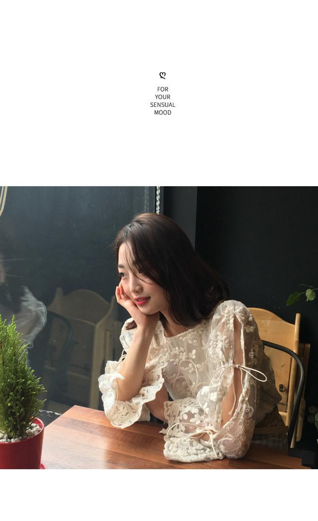 Celine lace blouse