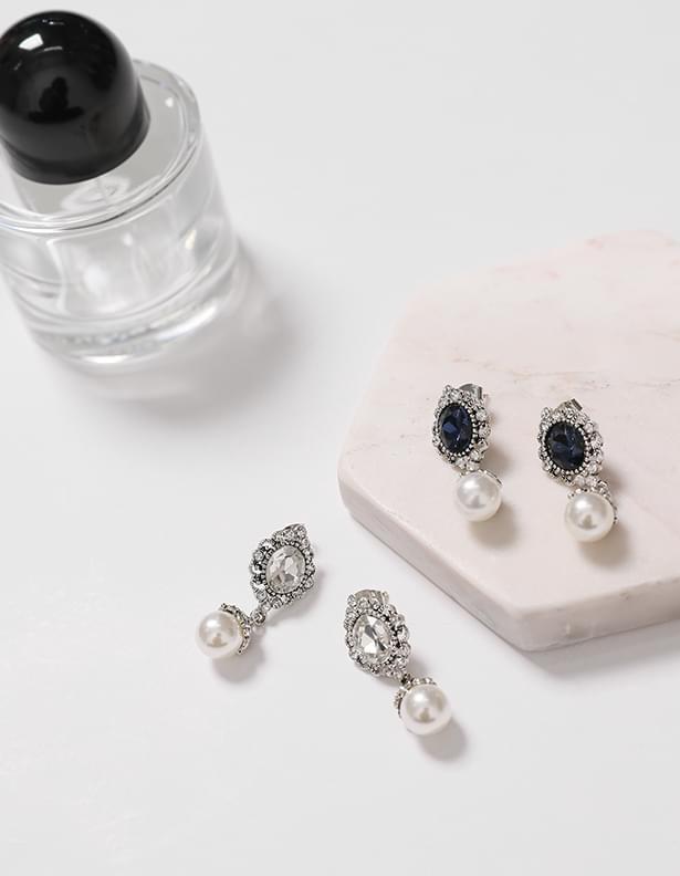 Shiny Jewel Earrings