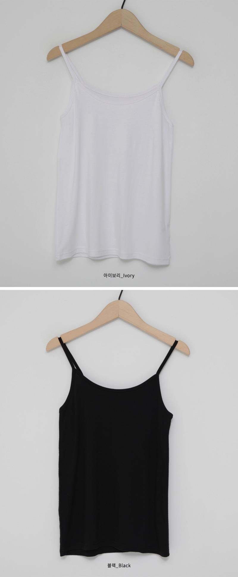 Simple span inner sleeveless_Y