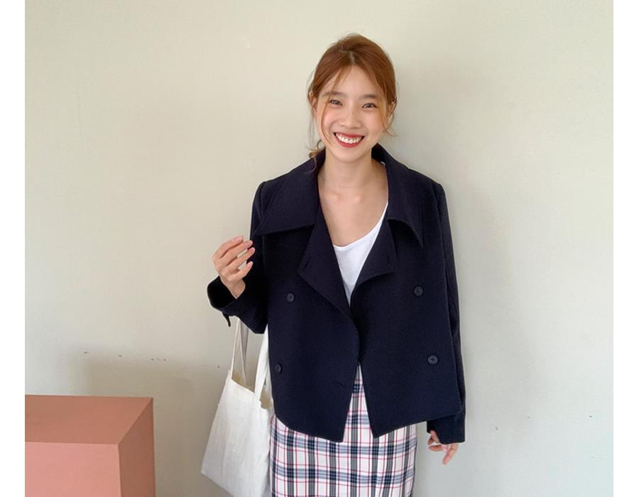 Maison double short jacket_S