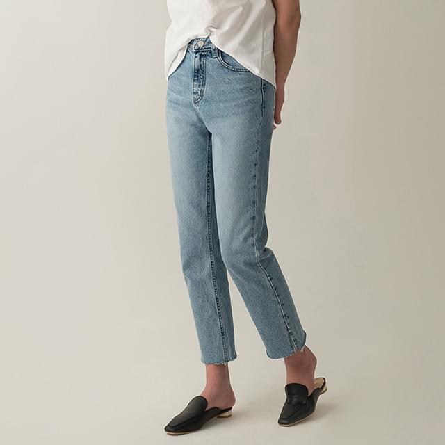 Hem Tight Cutting Jeans-pt
