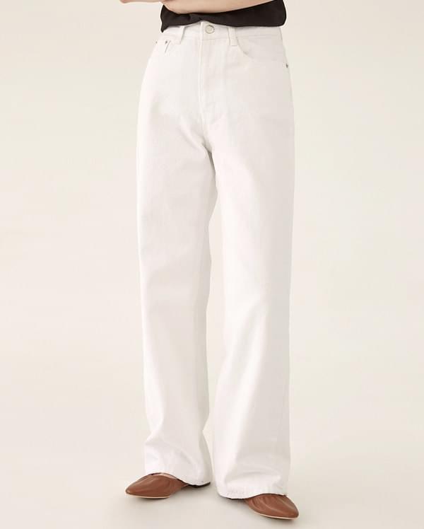 pure cotton wide pants (s, m, l)