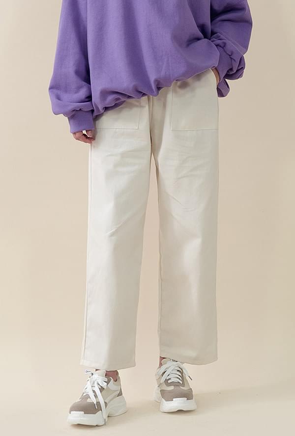 Three-dunk cotton pants