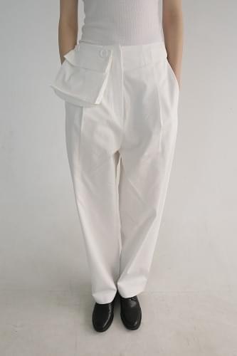light cotton pocket pants (2colors)