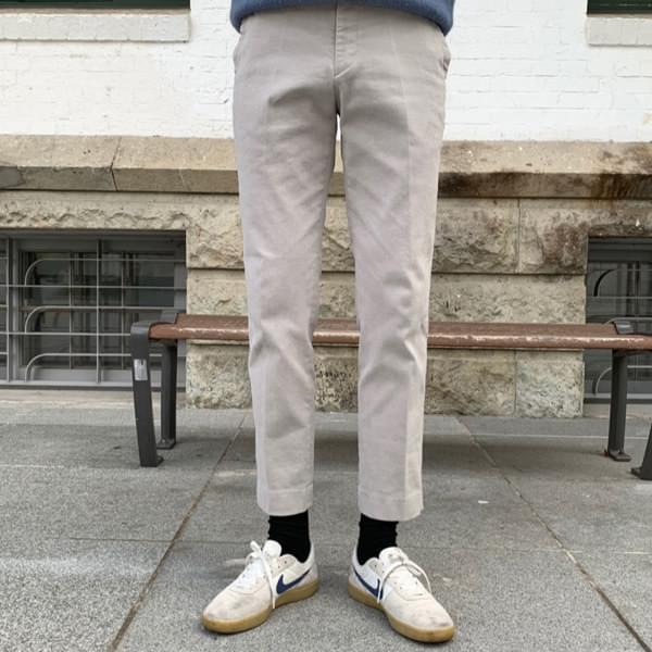 Brushed bending pants (7 COLOR)