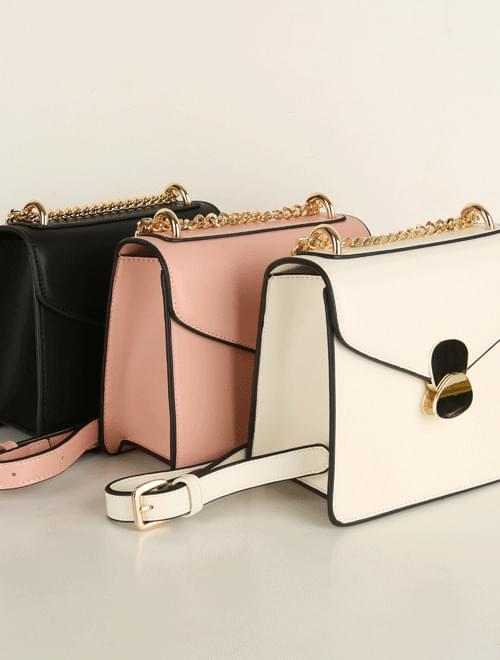 Hazel Gold Chain Bag