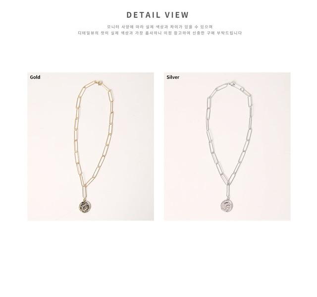 Coin Clip Necklace
