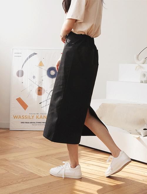 Basic long skirt