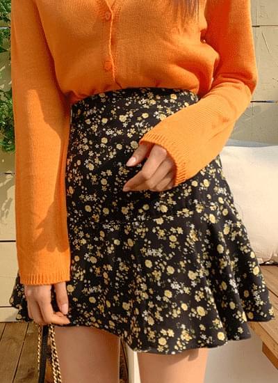 Dan Wheat Flower Skirt