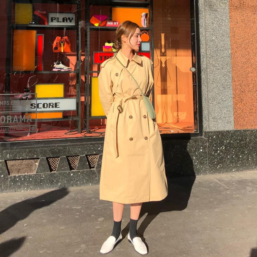 Melanie trench coat