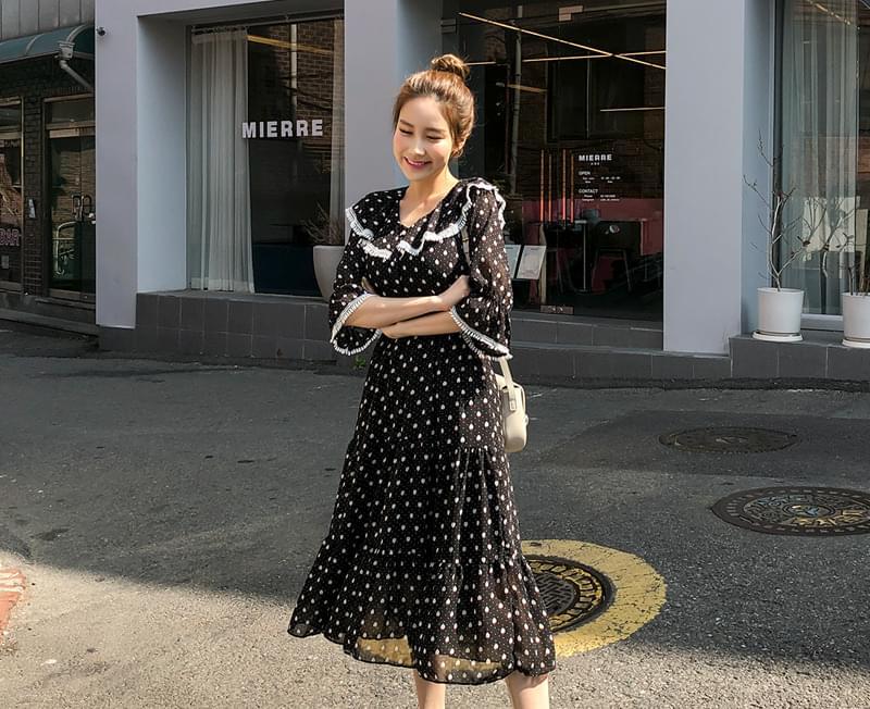 Fairy Chara Chiffon Dress