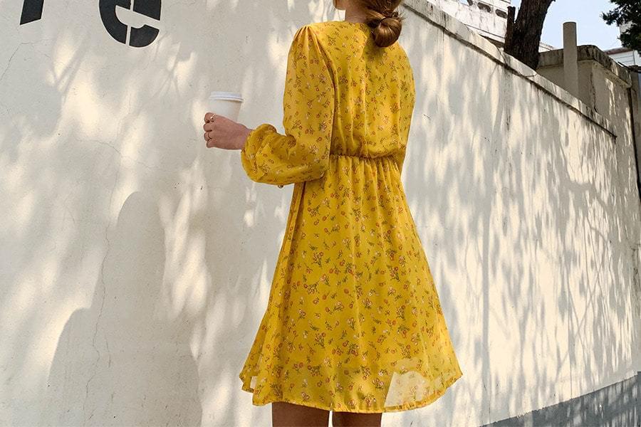 Flower Sally Mini Dress