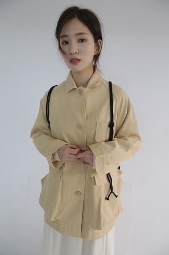 beams out pocket jacket (2colors)