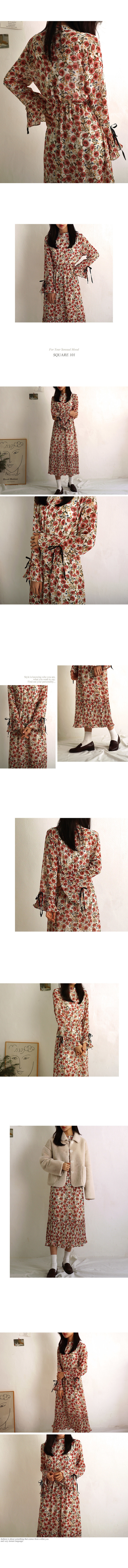 Rose Dressy Frilly Dress