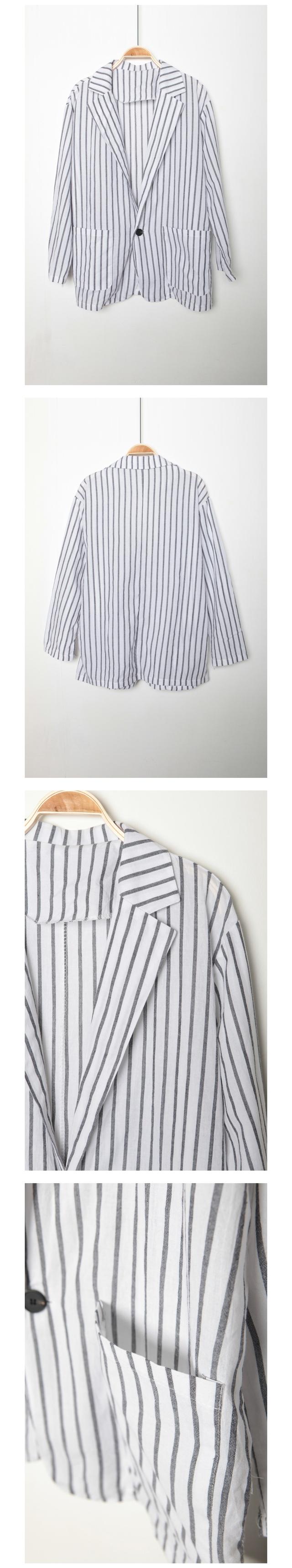 Travel Striped Jacket