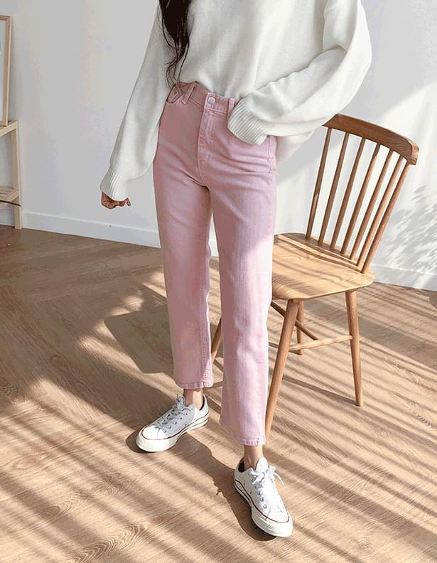 Pastel Casual Pants