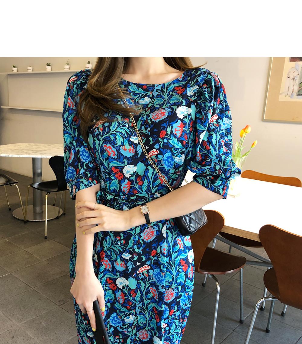 Chic Flower Dress