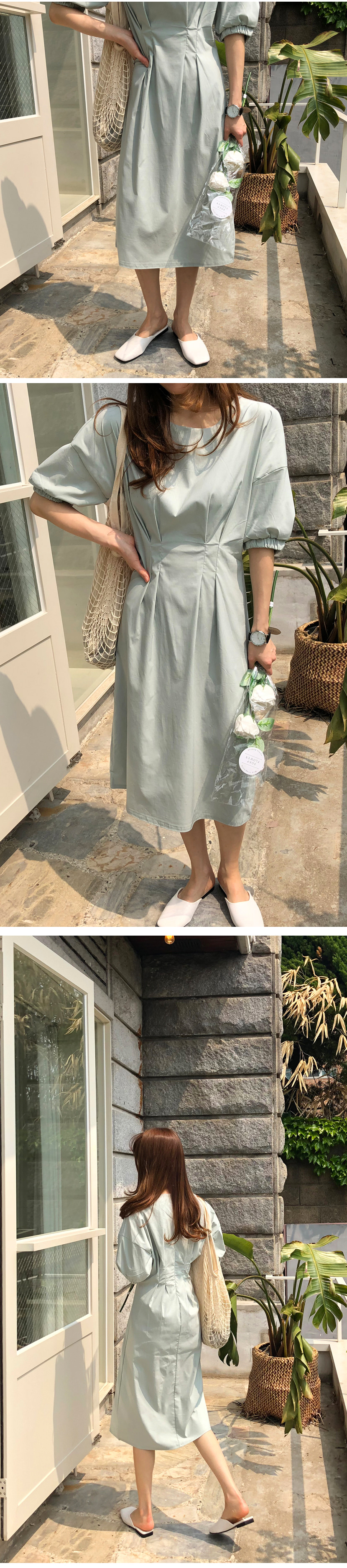 Finch Puff Dress
