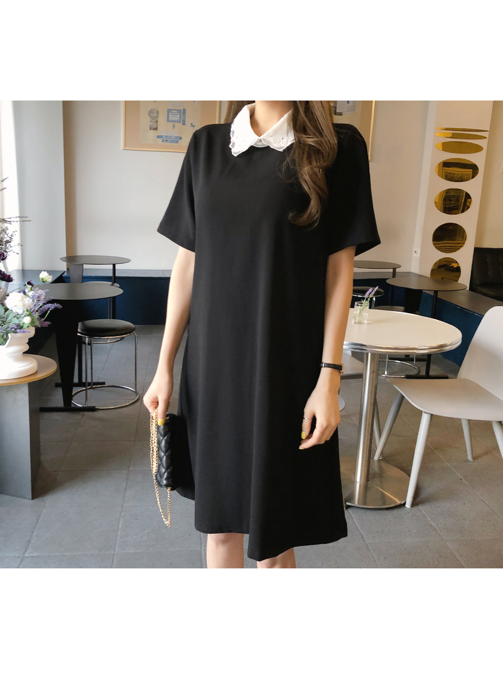 Jude lace collar dress