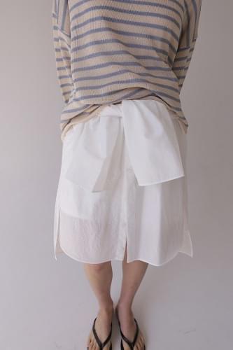 two way off shoulder blouse (2colors)