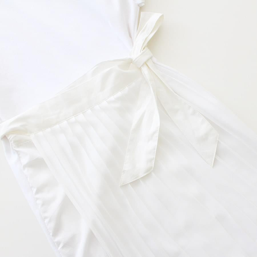 Romantic wrap dress