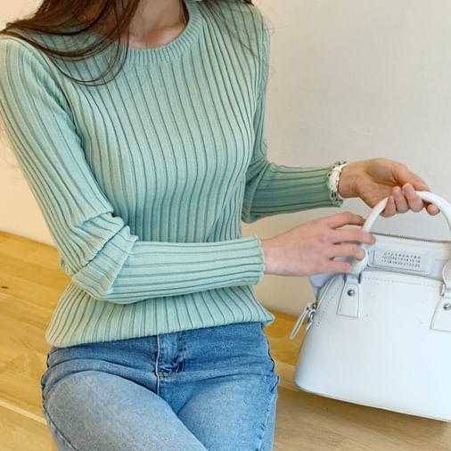 BERGOLGIO SPAN Slim knit
