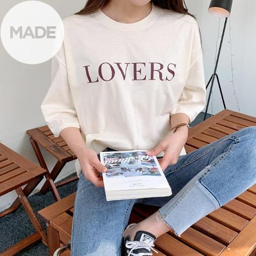 Rubber Lettering T-shirt