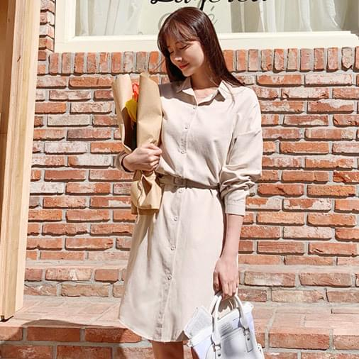 Lease With Shirt Dress
