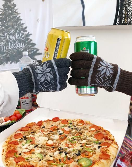 Snow Flower Gloves