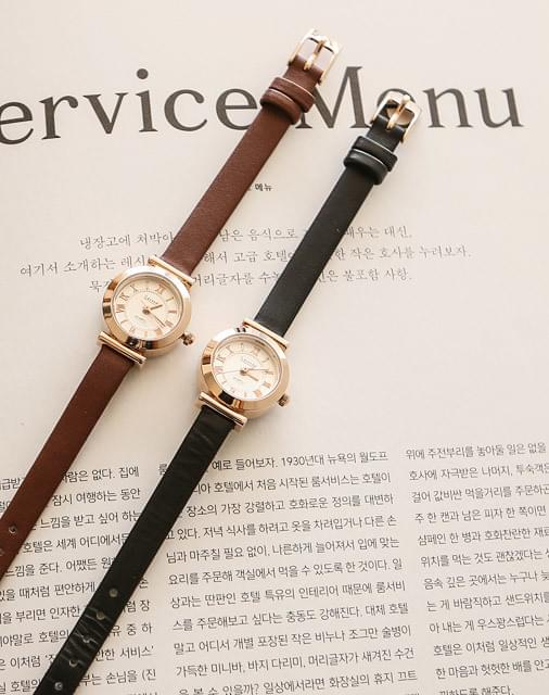 Fren leather watch
