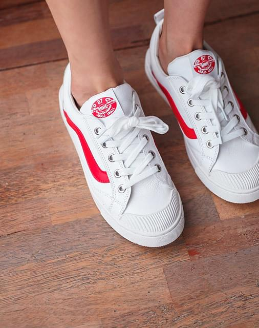 Bunny Red Sneakers