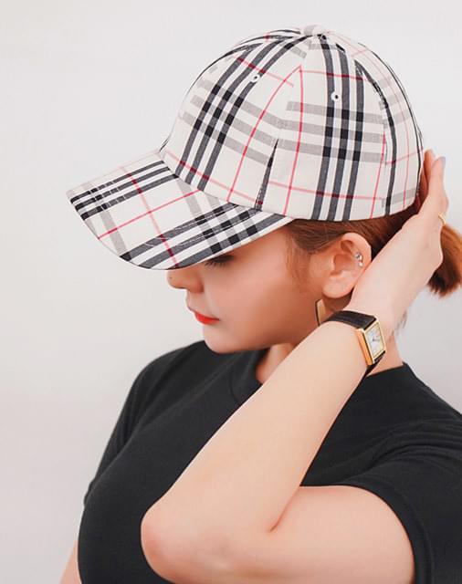 Etts check ball cap