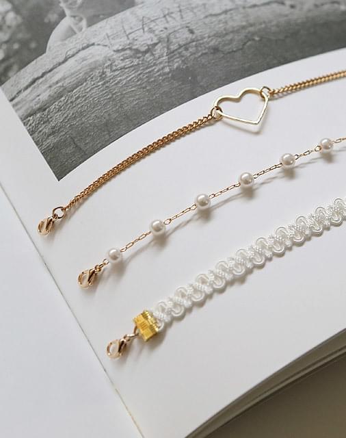 Lace Set Bracelet