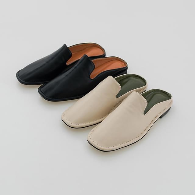 unique square sandal