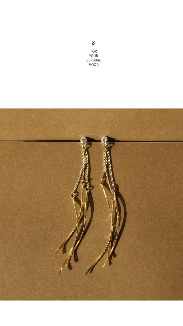 Anna Chain Drop Earrings