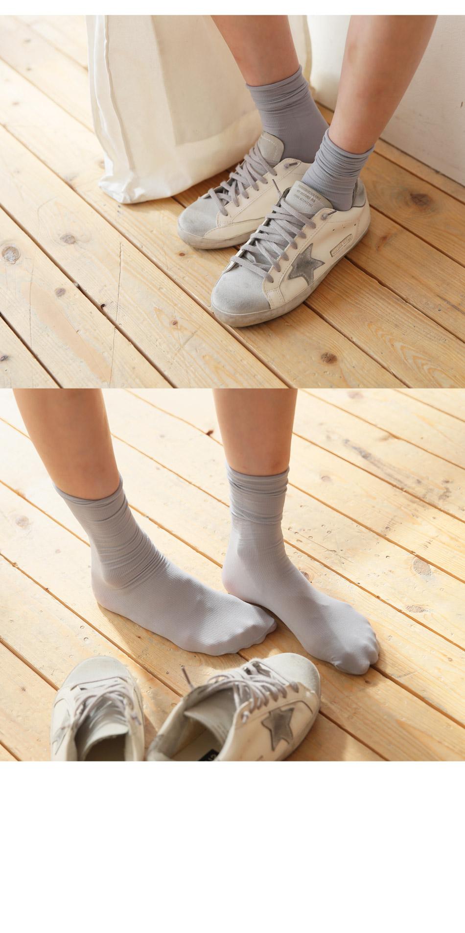 Rayon Basic Socks
