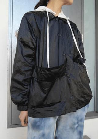 light texture pocket shirt jacket