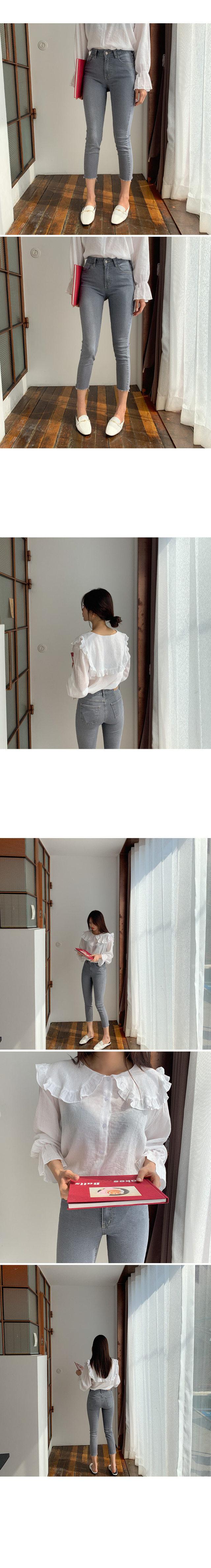 Attention denim pants