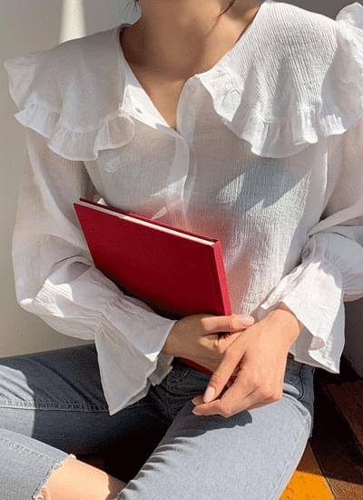 Matilda frill blouse
