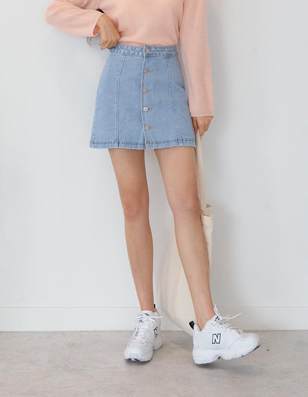 Child eye button skirt