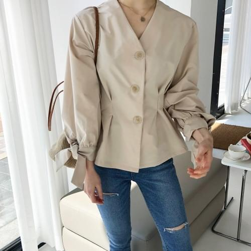 Cream Latte Finck Blouse