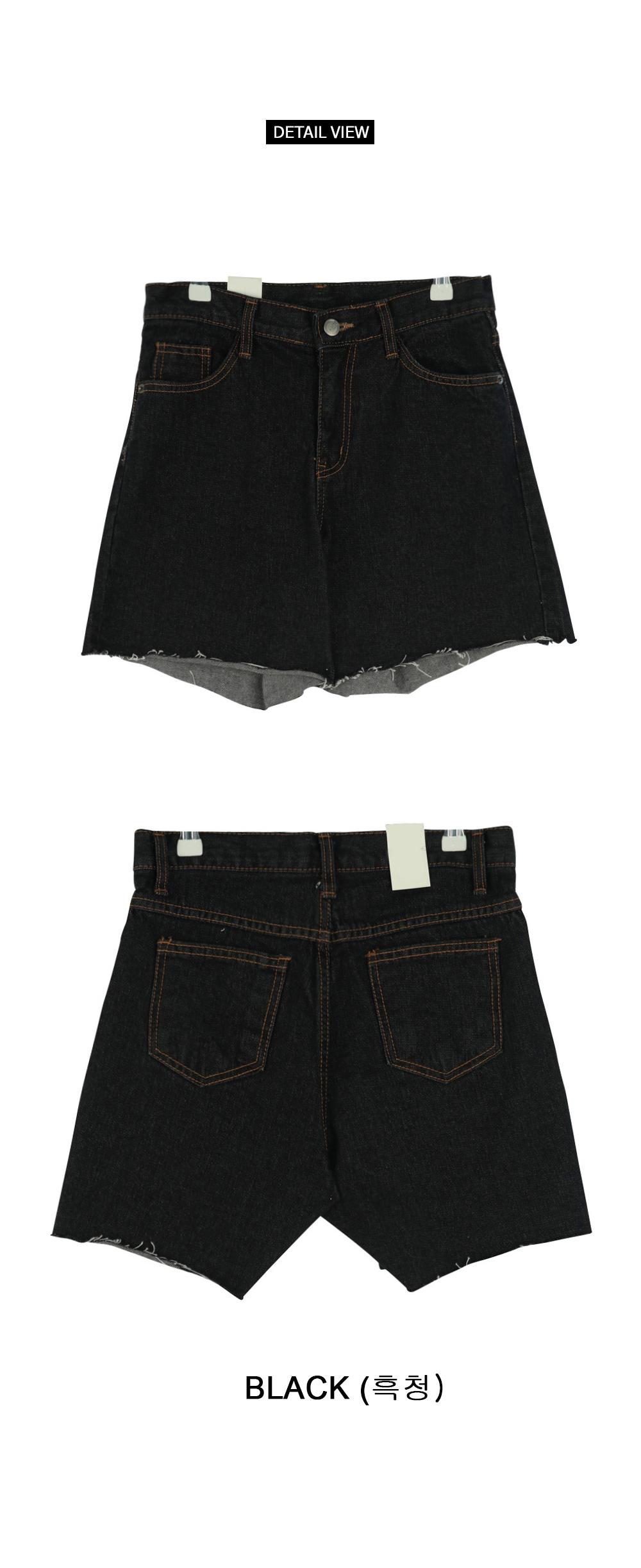 Maternity shorts denim shorts